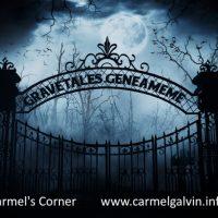 Carmel's Corner Gravetales Geneameme