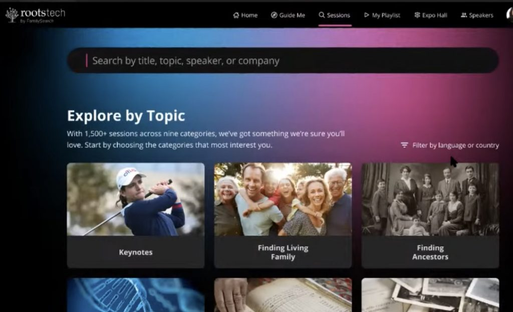 Explore by topic