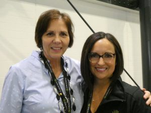 Fran Kitto and Jan Allen, RootsTech ConferenceDirector