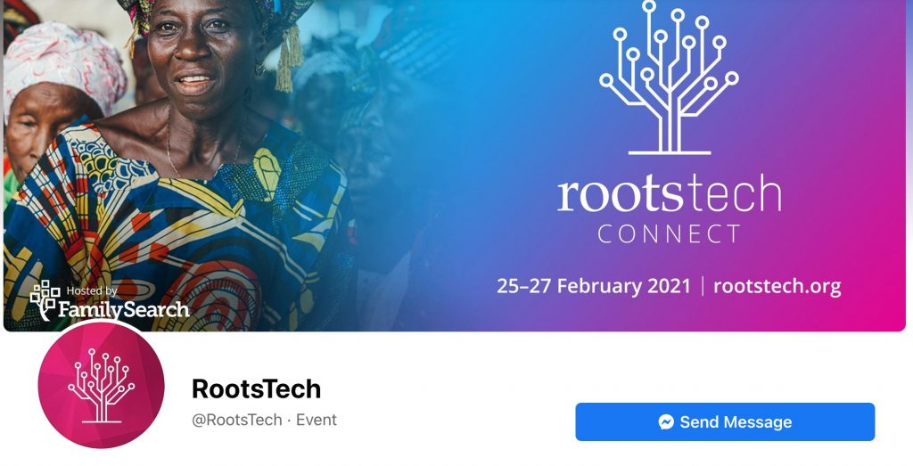 Follow RootsTech on Facebook
