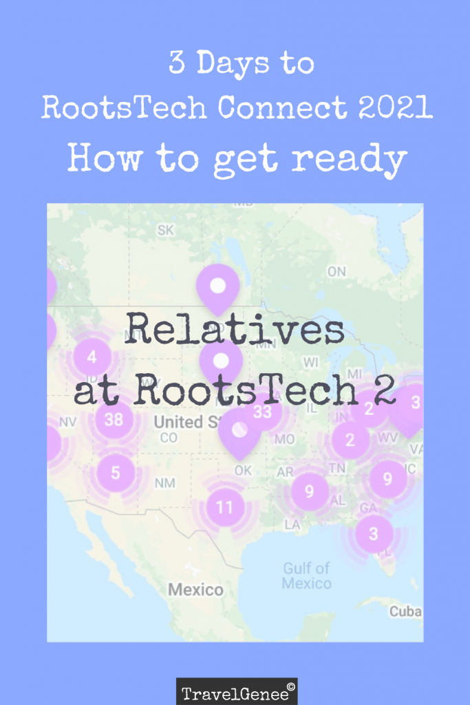 Relatives at RootsTech part 2