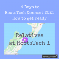 Opted in to Relatives at RootsTech part 1