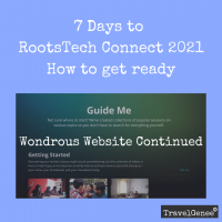 Wondrous Website Continued for RootsTech Connect - Your GenFlix