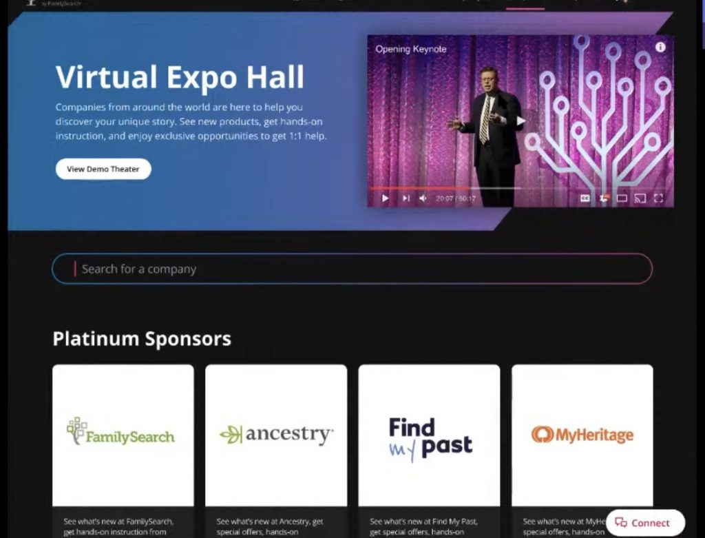 RootTech Connect Virtual Expo Hall